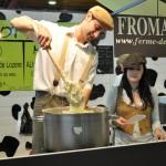 aligot avec l'alésien de la ferme des saveurs fromager à Alès