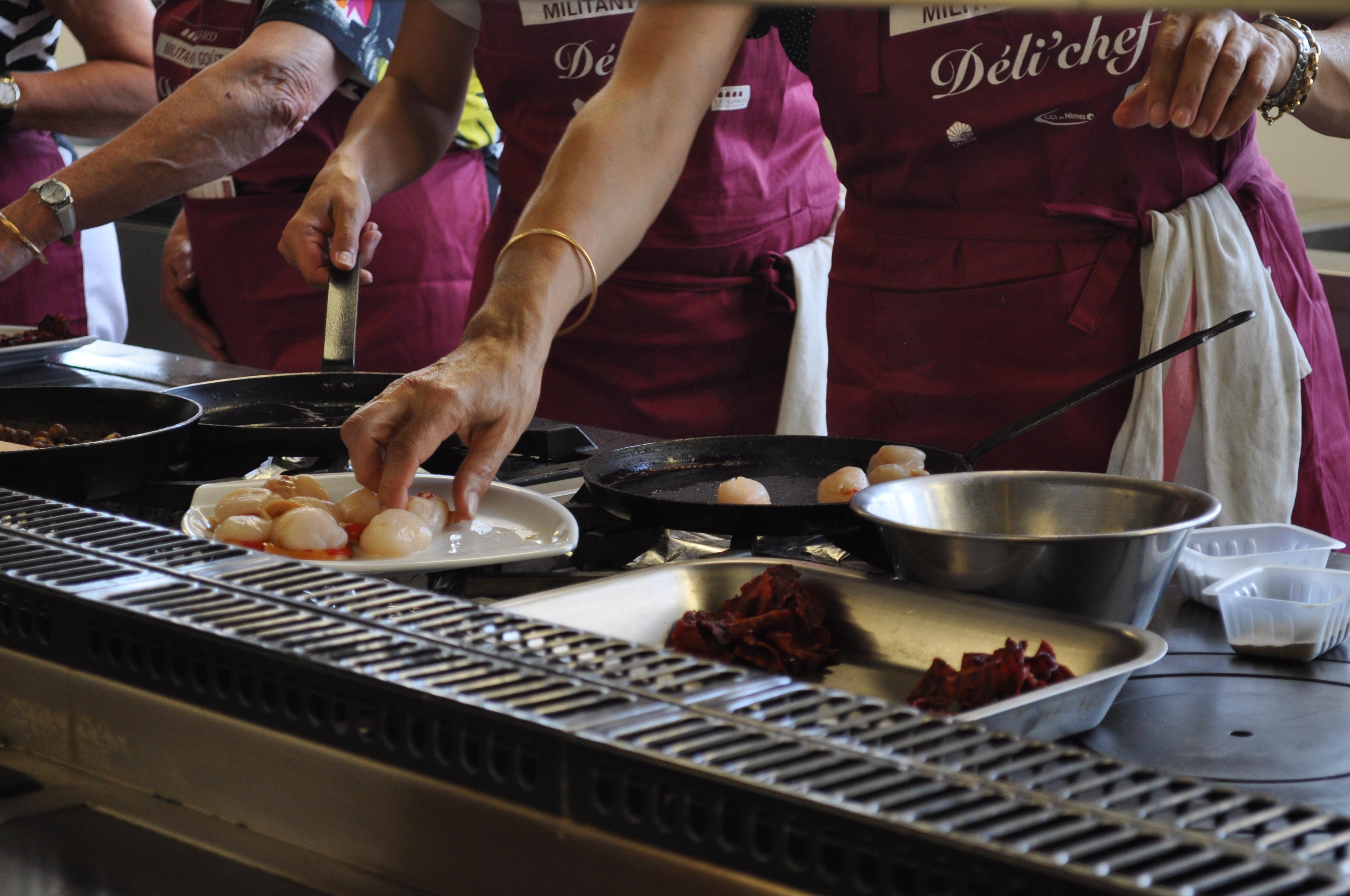 La pomme reinette l honneur avec le concours d li chef - Cours de cuisine launaguet ...