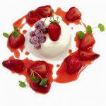 Dessert aux fraises Atelier Gourmand Alès