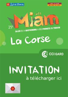 Téléchagez l'invitation gratuite pour le Miam 2017